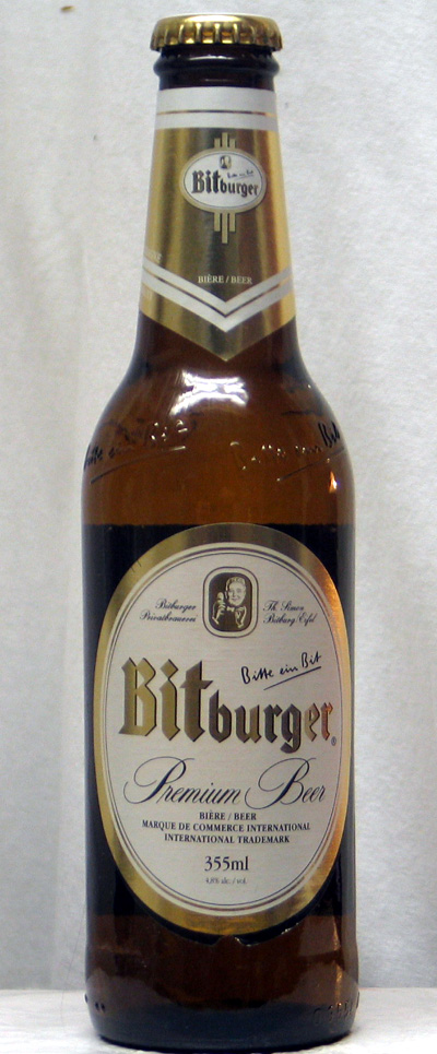 Bitburger Premium Beer - Germany
