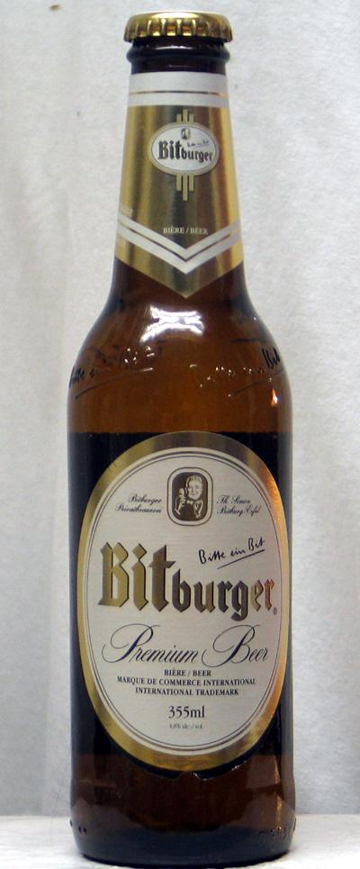 Bitburger Premium Beer - Germany