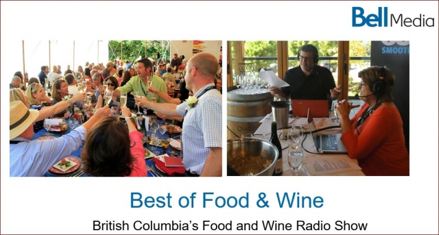 BC Food and Wine Radio Broadcast Schedule