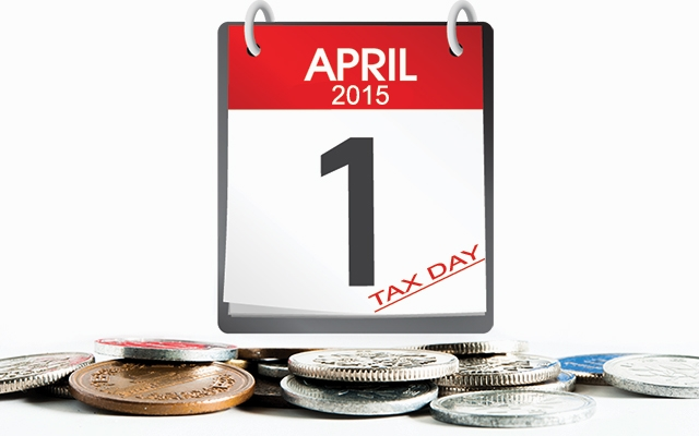 Tax reset for April Fools