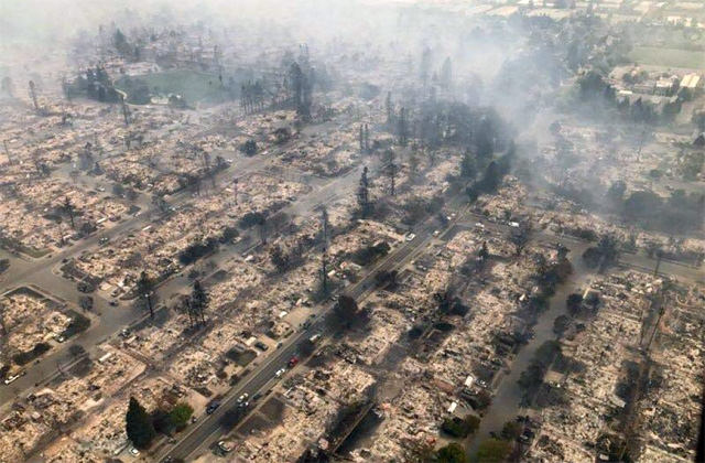 Napa Wildfires Media Alert