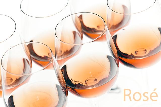 Rosé Coloured Glasses