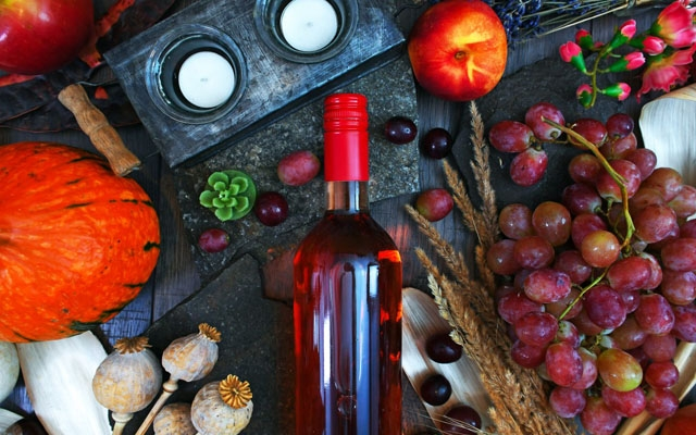 Top 10 : Wines to Give Thanks With