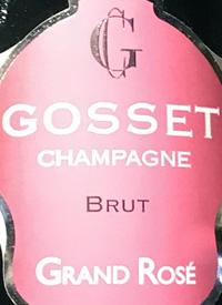 Champagne Gosset Grand Rosé Bruttext