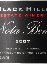 Black Hills Nota Benetext