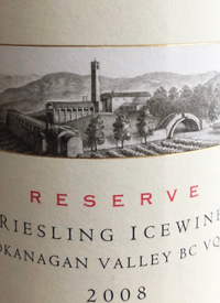 Mission Hill Reserve Riesling Ice Winetext