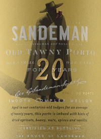 Sandeman Tawny Porto 20 Years Oldtext