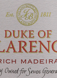 Blandy's Madeira Duke of Clarence Richtext