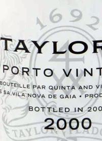 Taylor Fladgate Vintage Porttext