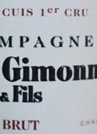 Champagne Pierre Gimonnet Brut Cuis 1er Cru Blanc de Blancs