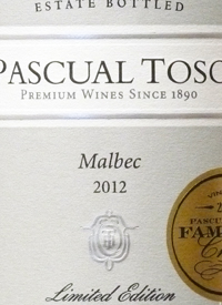 Pascual Toso Limited Edition Malbectext