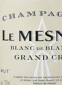 Champagne Le Mesniltext