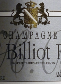 H. Billiot Fils Brut Grand Cru Brut Réserve Champagne