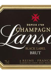 Champagne Lanson Black Label Bruttext