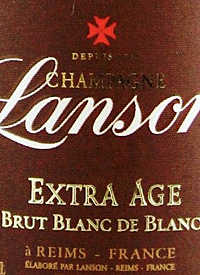 Champagne Lanson Extra Age Bruttext