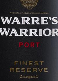 Warre's Warrior Finest Reservetext