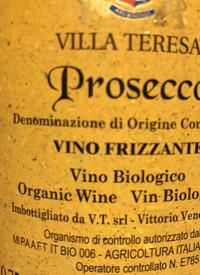 Villa Teresa Prosecco Vino Frizzante Organic