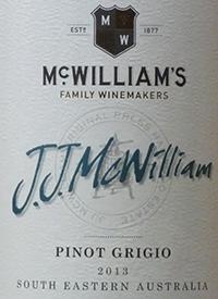 J.J. McWilliam's Pinot Grigiotext