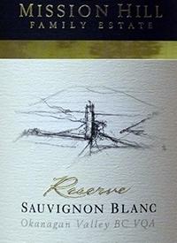 Mission Hill Reserve Sauvignon Blanc text