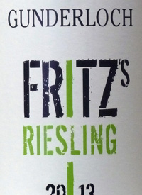 Gunderloch Fritz's Rieslingtext