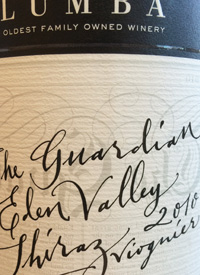 Yalumba The Guardian Shiraz Viognier Eden Valleytext