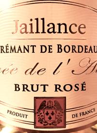 Jaillance Crémant de Bordeaux Brut Rosé Cuvée de l'Abbaye
