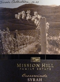 Mission Hill Terroir Collection No. 23 Crosswinds Syrahtext