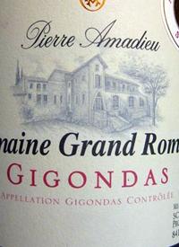 Pierre Amadieu Domaine Grand Romane Gigondastext