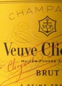 Veuve Clicquot Ponsardin Brut Yellow Labeltext