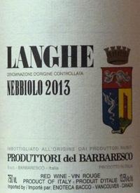 Produttori del Barbaresco Langhe Nebbiolotext