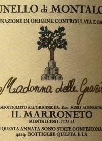 Il Marroneto Brunello di Montalcino Selezione Madonna delle Grazietext