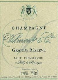 Champagne Vilmart & Cie Grand Réserve Brut Premier Crutext