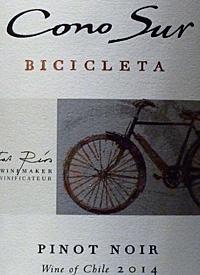Cono Sur Bicicleta Pinot Noirtext