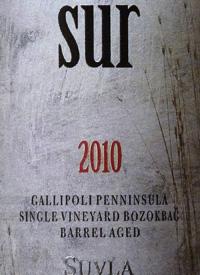 Suvla Sur Merlot - Cabernet Sauvignon - Cabernet Franc - Petit Verdot Single Vineyard Bozokbag Barrel Agedtext