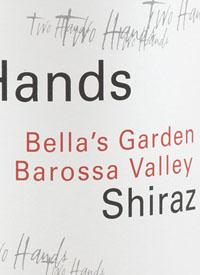 Two Hands Bella's Garden Shiraztext