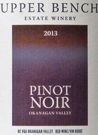 Upper Bench Pinot Noirtext