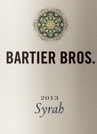 Bartier Bros. Syrah Cerqueira Vineyard