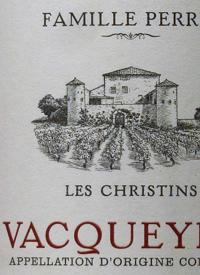 Famille Perrin Vacqueyras Les Christins