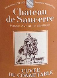 Chateau de Sancerre Cuvée du Connétabletext