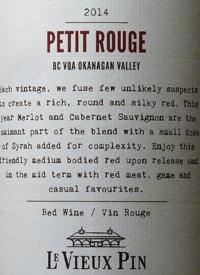 Le Vieux Pin Petit Rougetext