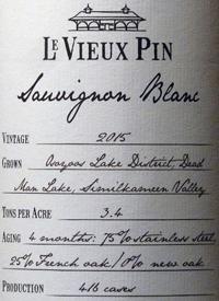 Le Vieux Pin Sauvignon Blanctext