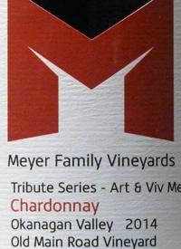 Meyer Family Vineyards Chardonnay Tribute Series Art and Viv Meyer Old Main Road Vineyardtext