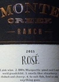 Monte Creek Ranch Rosétext