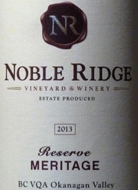 Noble Ridge Reserve Meritagetext