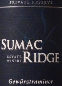Sumac Ridge Gewürztraminer Private Reservetext