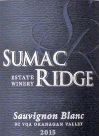 Sumac Ridge Sauvignon Blanc Private Reservetext
