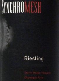 Synchromesh Riesling Storm Haven Vineyardtext
