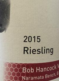 Synchromesh Wines Bob Hancock Rieslingtext