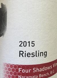 Synchromesh Wines Four Shadows Vineyard Riesling