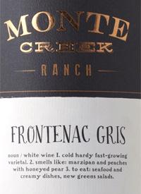 Monte Creek Ranch Frontenac Gristext